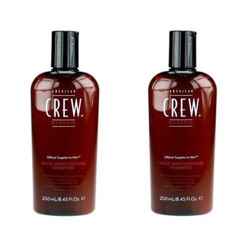 classic daily moisturizing - szampon nawilżający 250ml x2 marki American crew