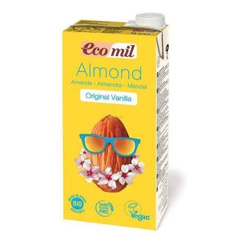 Napój migdałowy o smaku waniliowym bez cukru BIO 1 l ECOMIL (8428532230252)