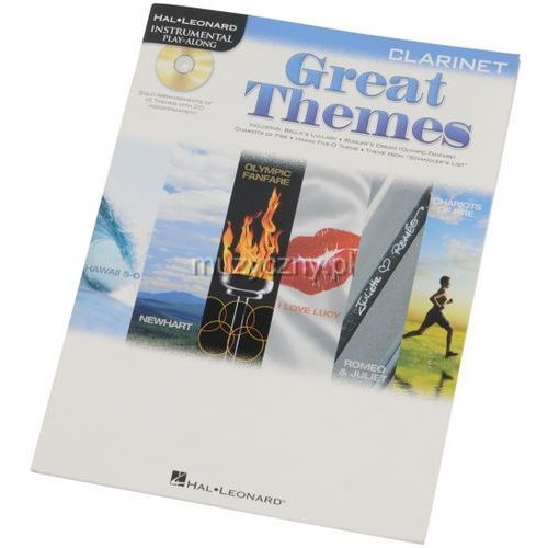 PWM Różni - Clarinet play-along: Great Themes (muzyka filmowa na klarnet + CD)