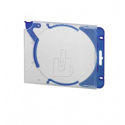 Etui Durable Quickflip na płytę CD/DVD niebieskie 5 sztuk 5269-06