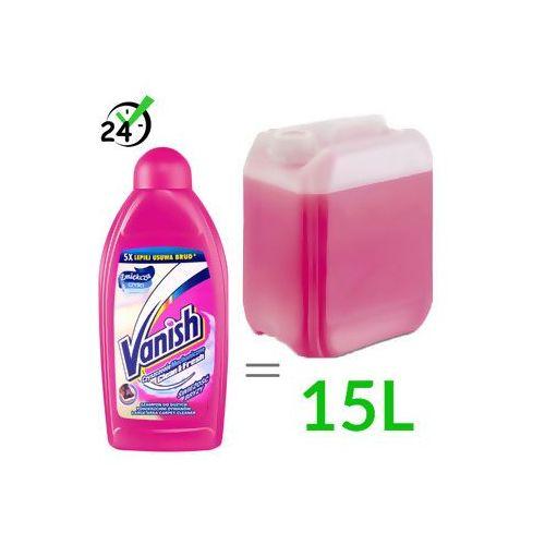 Vanish płyn do prania do dywanów, 500ml (1:30) #ZWROT 30DNI #GWARANCJA D2D #KARTA 0ZŁ #POBRANIE 0ZŁ #LEASING #RATY 0% #WEJDŹ I KUP NAJTANIEJ, Z18