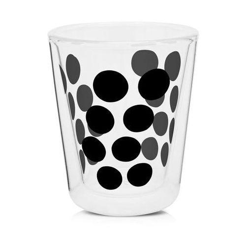 Zak!designs Zak! - szklanka 200 ml z podw. ściankami, czarna 0439-c420