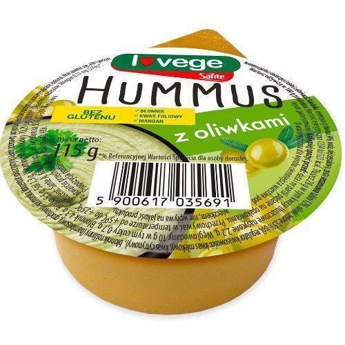 Hummus z oliwkami 120g - marki Sante