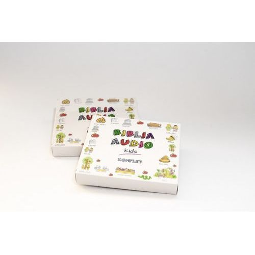 BIBLIA AUDIO KIDS KOMPLET CD BOX