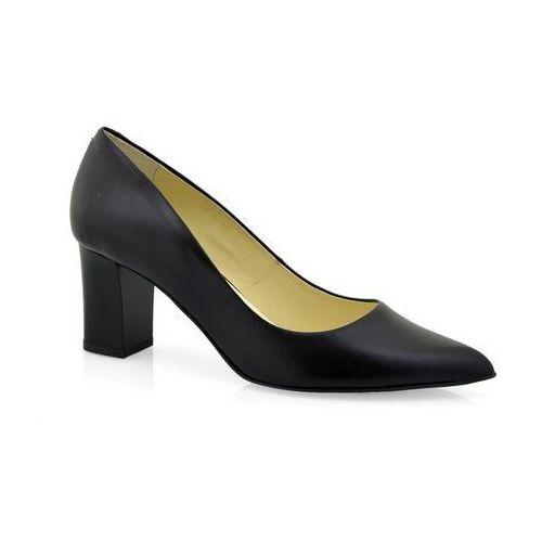 449b6086 Czółenka Zalbut 4400 czarny, w 3 rozmiarach 149,00 zł Cholewka: licowa  skóra naturalnaWnetrze obuwia: skóra naturalnaPodeszwa: tuniskórowa (dajaca  efekt ...