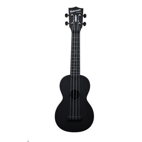 Kala KA-SWB-BK Waterman, ukulele sopranowe z pokrowcem, czarny