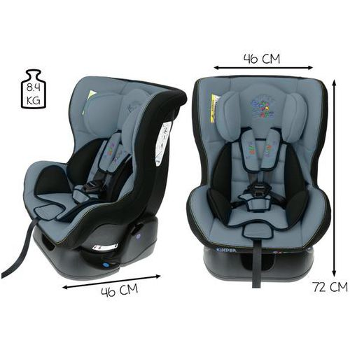 Kindersafe Fotelik samochodowy 0-18 kg baby ge-b