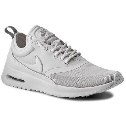 Buty NIKE - Air Max Thea Ultra 844926 100 White/White/Metallic Silver, kolor biały