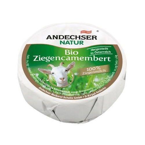 Andechser Ser kozi camembert 50% bio 100g natur (4104060011917)