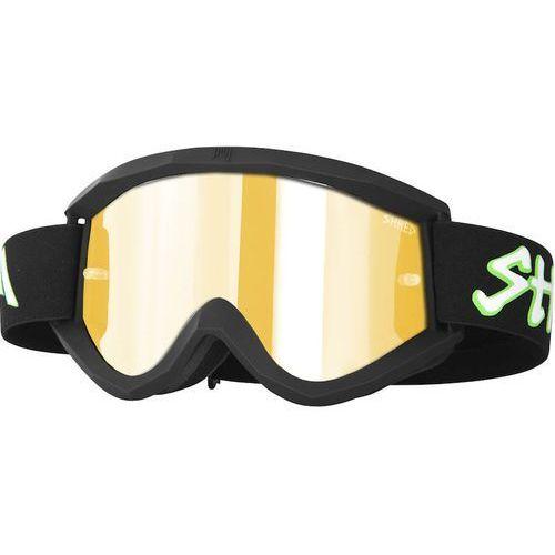 Shred Gogle bike/motocross soaza don black carmel/silver mirror s2 + bonus s0