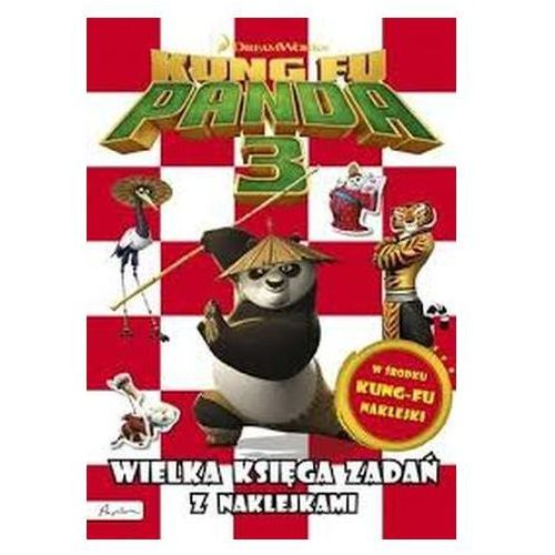 Praca zbiorowa Kung fu panda 3. wielka księga zadań z naklejkami