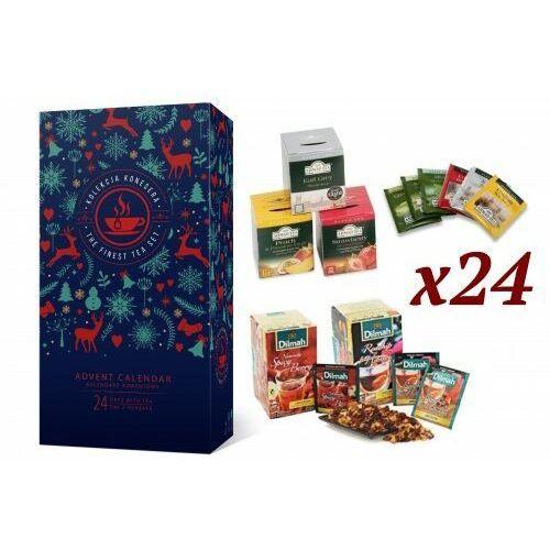 Kalendarz adwentowy z herbatą Ahmad oraz Dilmah (5907813306051)