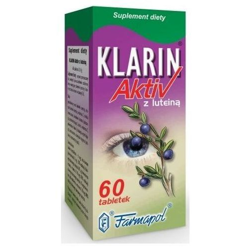 KLARIN AKTIV Z LUTEINĄ 60 tabletek