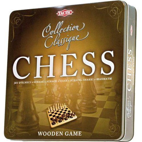 Tactic Gra szachy w metalowej puszce 14001