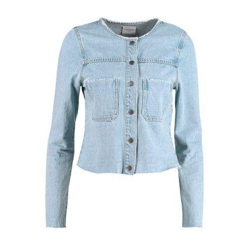 Vero Moda VMMONA Kurtka jeansowa light blue denim