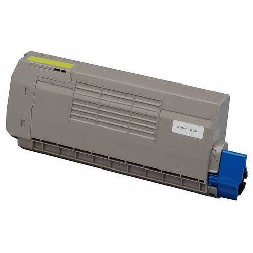 Toner zamiennik DT712YO do OKI C712 C712n C712dn, pasuje zamiast OKI 46507613 Yellow, 11500 stron