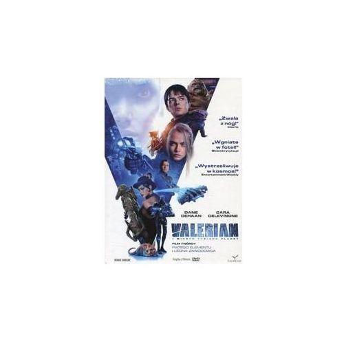 Valerian i miasto tysiąca planet dvd + książka (płyta dvd) marki Kino świat