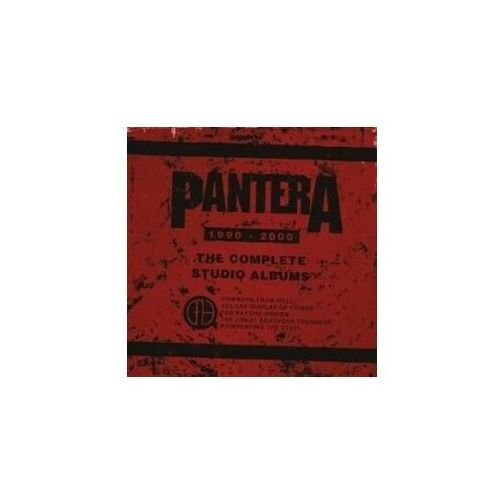 Warner music The complete studio albums 1990-2000 - pantera (płyta cd) (0081227953690)