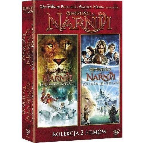 Galapagos Opowieści z narnii - lew, czarownica i stara szafa / książę kaspian (dvd) - andrew adamson darmowa dostawa kiosk ruchu (7321917502863)