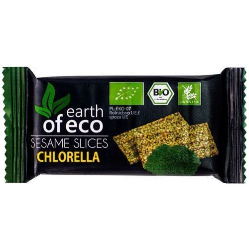Earth of eco (krówki i sezamki) Sezamki z chlorellą bio 18 g - earth of eco