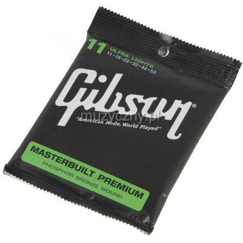 sag-mb11 struny do gitary akustycznej 11-52 marki Gibson