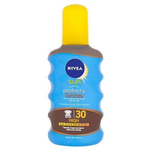 Nivea Sun Protect & Bronze suchy olejek do opalania SPF 30 (Sun Spray) 200 ml (4005900118172)