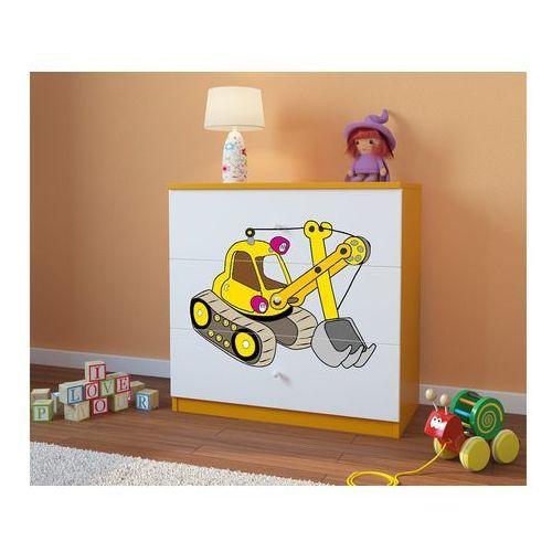 Komoda dziecięca babydreams koparka kolory negocjuj cenę marki Kocot-meble
