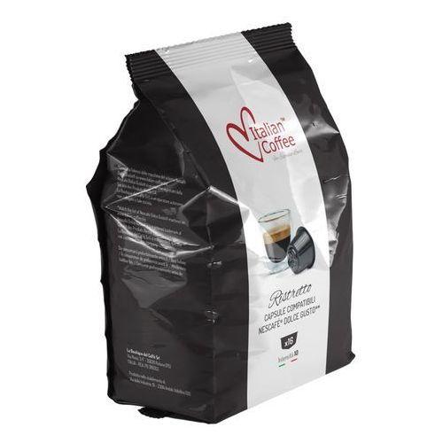 Nespresso kapsułki Ristretto italian coffee kapsułki do dolce gusto w torebce – 16 kapsułek