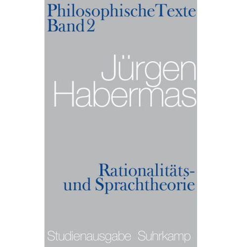 Rationalitäts- und Sprachtheorie (9783518585276)