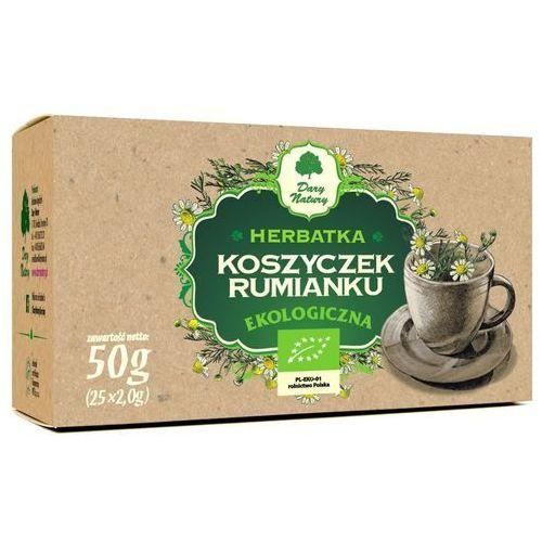 Dary natury Herbatka z koszyczków rumianku bio (25 x 2 g) - (5902741006240)