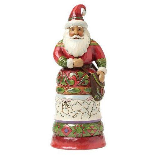 Mikołaj królewski heartwood creek regal santa with bag 4042964 figurka ozdoba świąteczna marki Jim shore