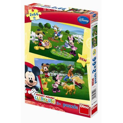 Neuveden Mickeyho klubík - puzzle 2 motivy v bale