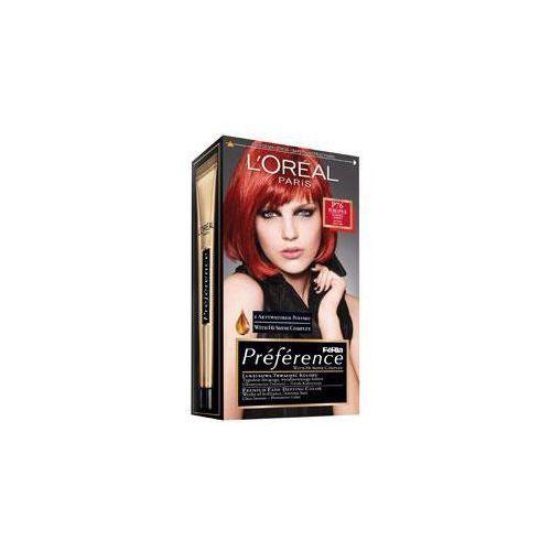 L'OREAL Feria Preference - farba do włosów P76 Płomienna Czerwień, L'OREAL Paris