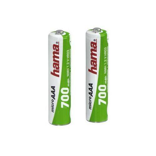 Akumulatory 2xaaa 700 ni-mh marki Hama