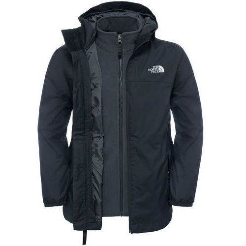 The North Face ELDEN TRICLIMATE 3IN1 Kurtka hardshell black, kolor czarny