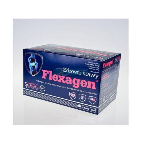 Olimp flexagen x 30 sasz o smaku malinowym (proszek)
