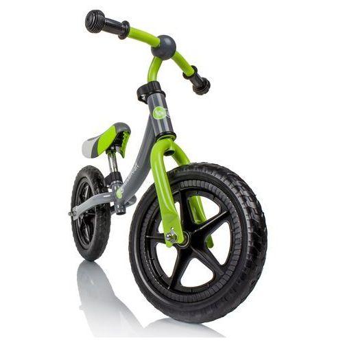 Kinderkraft Rowerek biegowy 2way zielono-szary (5906736057309)