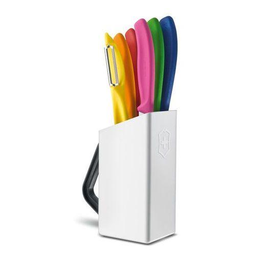 - swiss classic zestaw 6 noży z blokiem marki Victorinox