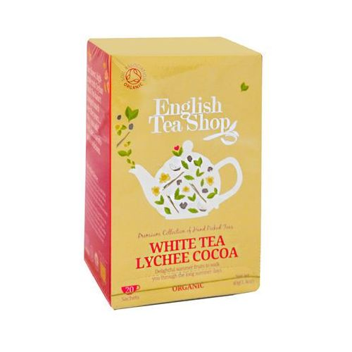 ETS White Tea Lychee Cocoa 20 saszetek, 3107