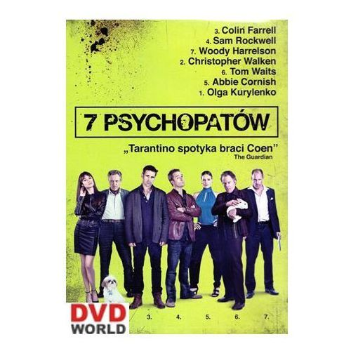 Best film 7 psychopatów (5906619092526)