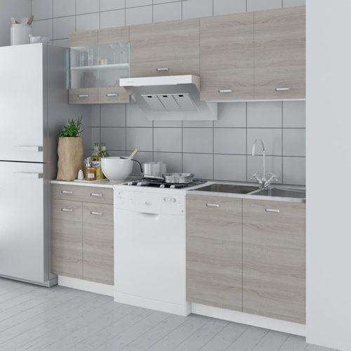 Zestaw szafek kuchennych w kolorze dębowym 5 szt., 200 cm marki Vidaxl