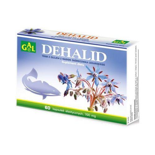 Dehalid (tran + olej z ogórecznika lekarskiego) 60 kaps. (5907501110250)