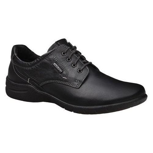 Półbuty damskie JOSEF SEIBEL 92496 Fabienne Czarne TOPDRY-Tex - Czarny, kolor czarny
