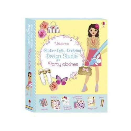 Sticker Dolly Dressing Design Studio Party Clothes (9781409597254)