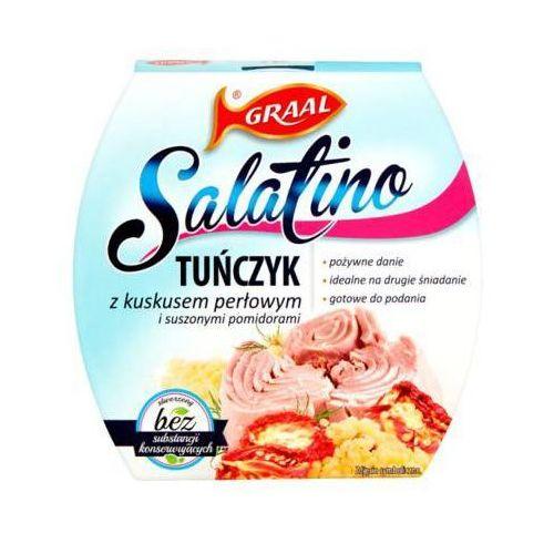 Graal 160g salatino tuńczyk z kuskusem perłowym i suszonymi pomidorami