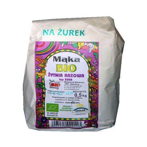 Mąka na żurek 500g marki Bio babalscy