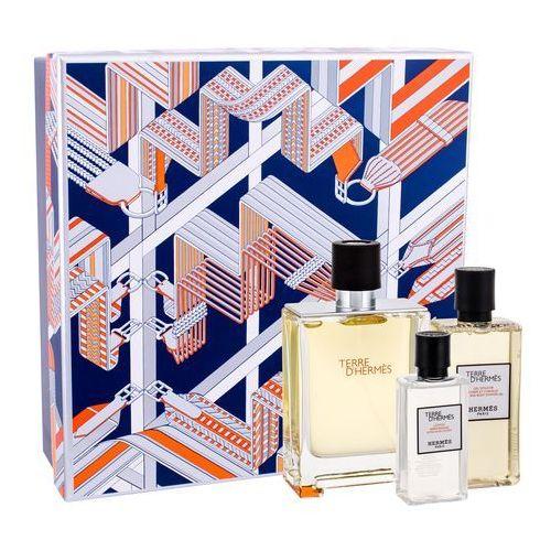 Hermes Terre D´Hermes zestaw Edt 100 ml + Żel pod prysznic 80 ml + Balsam po goleniu 40 ml dla mężczyzn