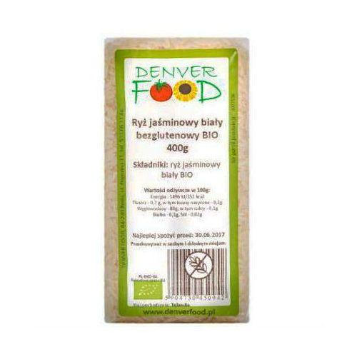 Ryż Jaśminowy Biały Bezglutenowy BIO 400g - DENVER FOOD, 4647