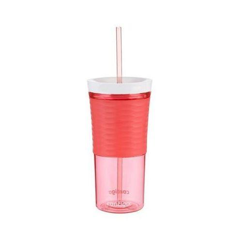 Shaker Contigo Shake&Go do mrożonej kawy, koktaili 540 ml - watermelon - Różowy