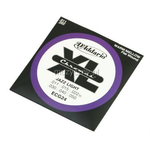 D′addario ecg-24 chromes struny do gitary elektrycznej 11-50